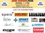 Free: Regina Job fair - March 19th 2019, regina
